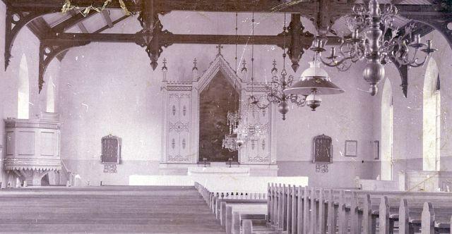 Törnävän kirkon alttaritaulu - valokuvat